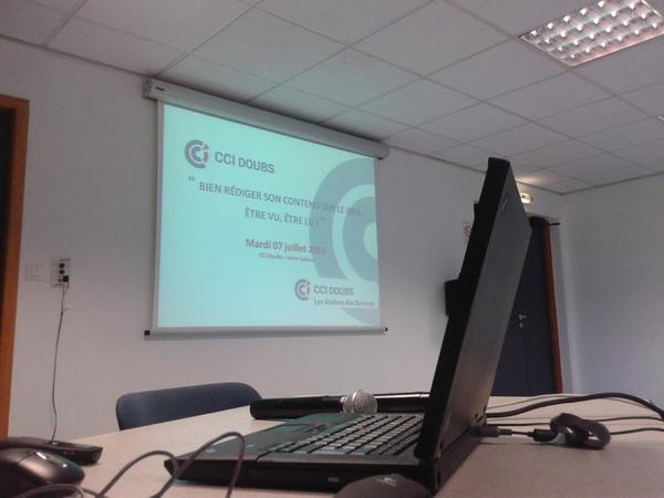 Conférence à la CCI