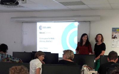 Intervention à la Webschool du Jura